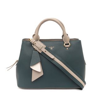 Da Milano Green Satchel Bag