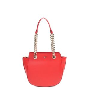 12044df25d Da Milano Red Tote Bag