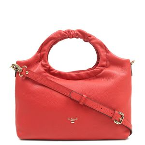 017ccc6ede Da Milano Red Satchel Bag