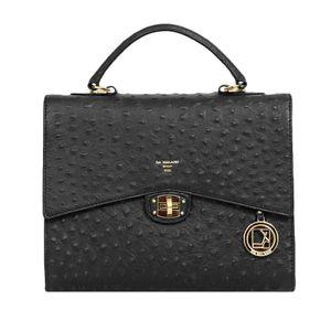 Da Milano Women's Lb-3781 Black Ost Handbag