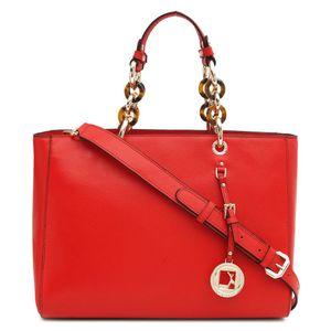 Da Milano Red Satchel Bag