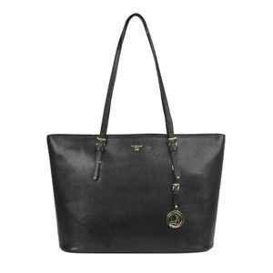 6569a2ed3e Da Milano Black Shopper Bag ...