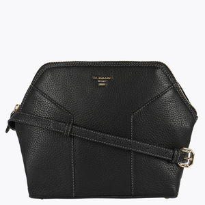 Da Milano Lb-4212 Black Sling Bag