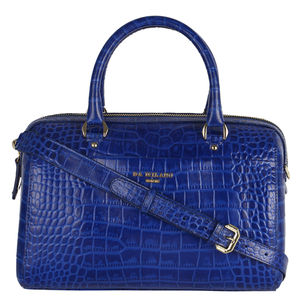Da Milano Royal Blue Duffle Bag