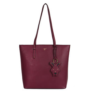 Da Milano Lb-4215 Berry Shopper Bag