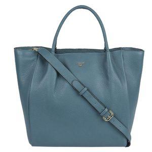 Da Milano Green Top Handle Bag