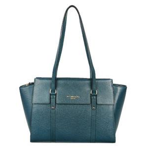 Da Milano Green Long Handle Bag