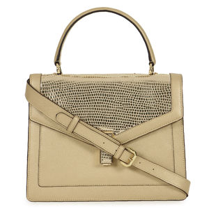 bac4195d0a Da Milano Light Gold Top Handle Bag ...