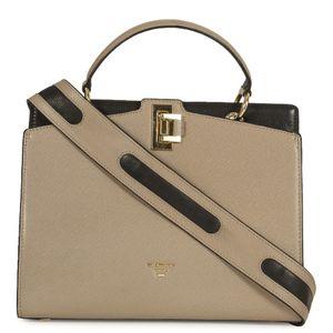 c7e165b6ac Da Milano Ivory Black Sling Bag