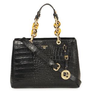 Handbags for women designer ladies bags online da milano da milano black top handle bag gumiabroncs Choice Image