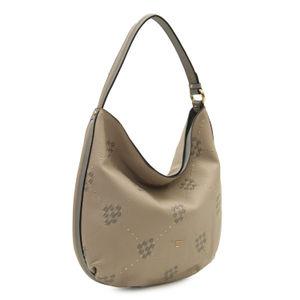 Da Milano Grey Hobo Bag