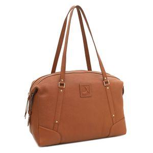 Da Milano Cognac Tote Bag