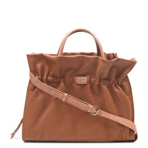 a840b413cd Da Milano Cognac Satchel Bag ...
