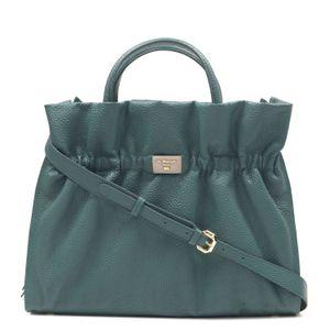 e7cfa9ee84 Da Milano Green   Grey Satchel Bag ...