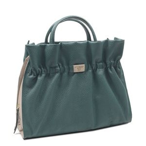 36234cd03e ... Da Milano Green   Grey Satchel Bag
