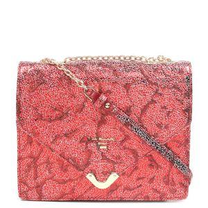 a0a46abdd8b0 Da Milano Red   White Sling Bag ...