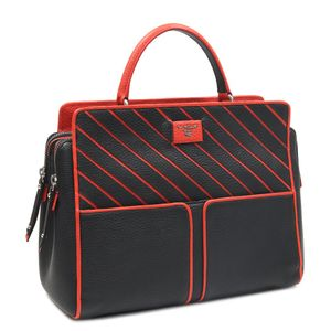d77535cb42b4 Da Milano Black Satchel Bag · Da Milano Black Satchel Bag