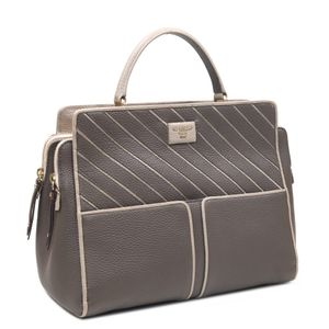04ac6db783d31 Da Milano Brown Satchel Bag · Da Milano Brown Satchel Bag