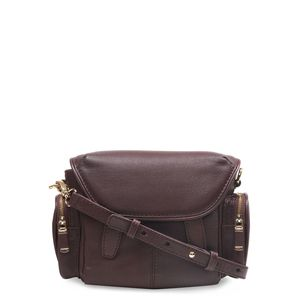 56dff144d524 Da Milano Purple Sling Bag ...