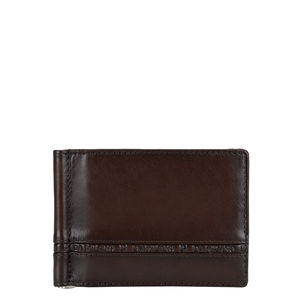 Da Milano Ml-0281 Brown Plain Money Clip