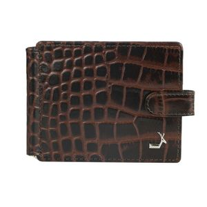 Da Milano Ml-0406B Brown Money Clip