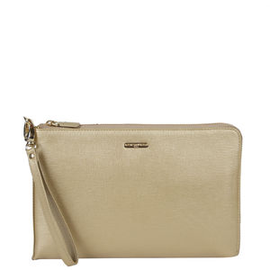 Da Milano Light Gold Multi Pouch