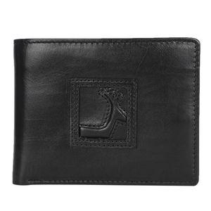 Da Milano Mw-013Lg Black Men Wallet