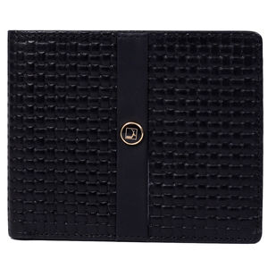 Da Milano Men's Mw-0329 Black Leather Wallet
