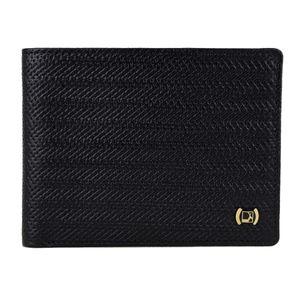 Da Milano Men's Mw-0419 Black Leather Wallet