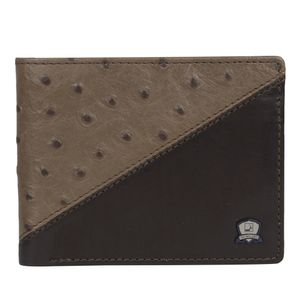 Da Milano Mw-0444 Taupe/Brown Men Wallet