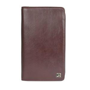 Da Milano Pc-1420 Brown Long Passport Case