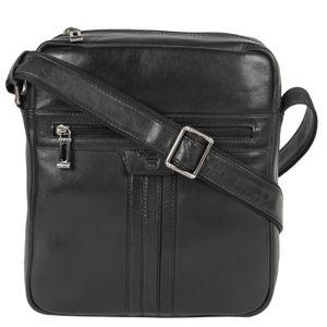 Da Milano Black Sling Bag