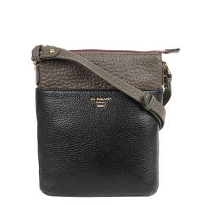 Da Milano Black/Taupe Sling Bag