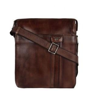 Da Milano Brown Sling Bag