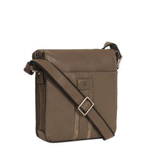 Da Milano Taupe Sling Bags
