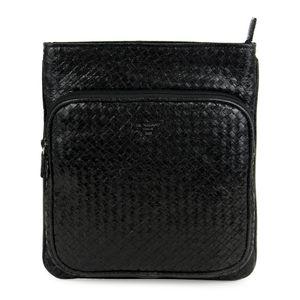 Da Milano Sb-0058 Black Mat Sling Bag