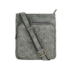 Da Milano Sb-0058 Grey Mat Sling Bag