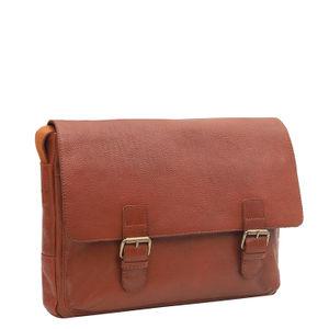 Da Milano Cognac Sling Bag