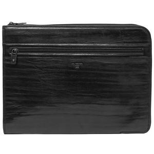 Da Milano Sl-9001 Black Bamboo Computer Sleeve