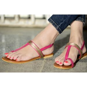 PKKART WOMEN'S CASUAL COLORED FLATS & SANDAL
