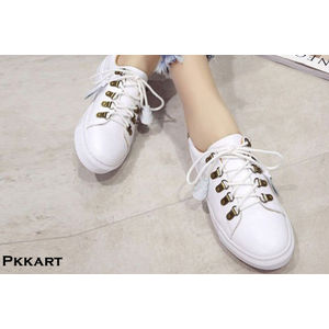 Pkkart Women's Casual white Sneakers