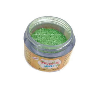 Rainbow Metalic Luster Dust Green
