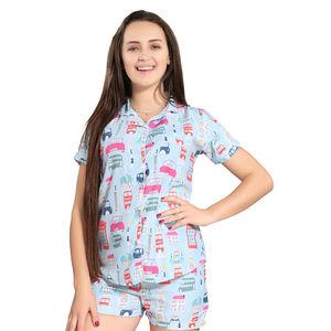 19d1fb674f Buy Womens Cotton Cute Pyjama Sets Nightwear OnlineIndia
