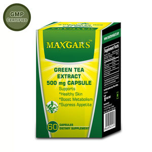 Maxgars Green Tea Extract 500 mg (60 Capsules)