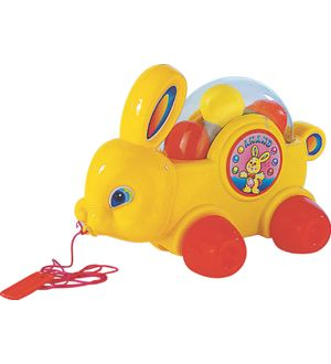 Anand Baby Bunny Pull Along Toy