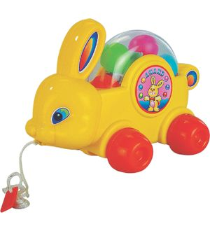 Anand Bunny Pull Along Toy
