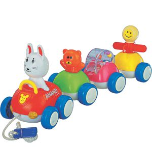 Anand Happy Babies Pull Along Toy