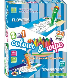Ekta Colour N Wipe Flower And Transport