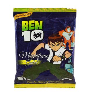 Ben 10 Summer Toy Herbal Gulal 100Gms Pack Licensed ProductBlue