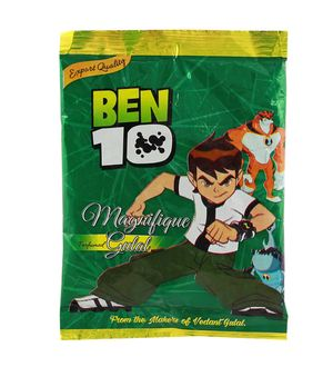 Ben 10 Summer Toy Herbal Gulal 100Gms Pack Licensed ProductGreen